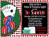 Diaper Poker Party Invitations Man Diaper Shower Pampers and Poker Invitation Print Your Own