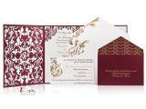 Die Cut Wedding Invites Custom Lasercut Luxury Wedding Invitations Die Cut Wedding