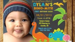 Dinosaur 1st Birthday Party Invitations 15 Dinosaur Birthday Invitations Free Psd Vector Eps