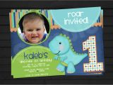 Dinosaur 1st Birthday Party Invitations Dinosaur 1st Birthday Invitations Best Party Ideas