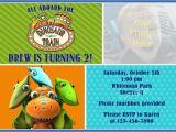 Dinosaur Train Birthday Invitations Free Dinosaur Train Birthday Party Photo Invitation by