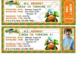 Dinosaur Train Birthday Invitations Free Dinosaur Train Ticket Invitation by Birthdayp On Etsy 10
