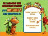 Dinosaur Train Birthday Invitations Free Dinosuar Train Invitation orderecigsjuice Info