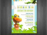 Dinosaur Train Invitations Birthday Dinosaur Train Birthday Invitation