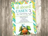Dinosaur Train Invitations Birthday Dinosaur Train Birthday Party Invitation by Custompartydecor