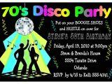 Disco theme Party Invitations 70s Disco Party Invitations for Birthday Etc Digital