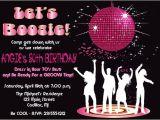 Disco theme Party Invitations Free Disco Dance Birthday Party Invitation by Fabpartyprints