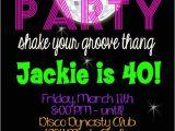 Disco theme Party Invitations Free Disco Party Birthday 5×7 Invitation Printable by Party