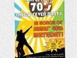 Disco theme Party Invitations Printable Disco Ball 70 39 S Seventies themed Party