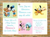 Disney Baby Shower Invites Disney Baby Shower Ideas Baby Ideas