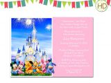Disney Baby Shower Invites Disney Baby Shower Invitation Disney Castle Baby by