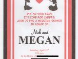 Disney Bridal Shower Invitations Disney themed Wedding Shower Invitation Set Of 15