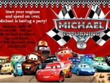 Disney Cars Birthday Party Invitations Templates Disney Cars Birthday Invitations Ideas – Bagvania Free