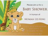 Disney Lion King Baby Shower Invitations Baby Shower Invitation Awesome Disney Lion King Baby