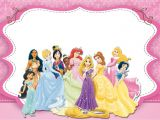 Disney Princess Birthday Invitations Free Printable Disney Princess Party Free Printable Party Invitations