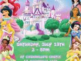 Disney Princess Birthday Invitations Free Printable Items Similar to Disney Princess Invitation Printable
