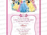 Disney Princess Birthday Invitations Free Templates 7 Best Of Disney Princess Free Printable Templates