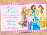 Disney Princess Birthday Party Invitations Free Printables Princess Invitation Disney Princess Invitation Birthday