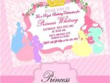 Disney Princess Bridal Shower Invitations Princess Invitation Disney Princess Inspired Collection