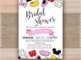 Disney Up Bridal Shower Invitations Disney theme Bridal Shower Invitation Printable Disney