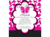 "Diva Baby Shower Invitations Cute Baby Diva Girls Baby Shower Invitation 5"" X 7"