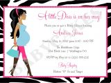 Diva Baby Shower Invitations Diva Baby Shower Invitation Zebra Print totally Fabulous Diy