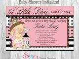 Diva Baby Shower Invitations Unavailable Listing On Etsy