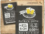 Diy 40th Birthday Invitations 30th Birthday Invitation Beer Birthday Party Invitations