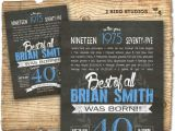 Diy 40th Birthday Invitations 40th Birthday Invitation Surprise 40th Birthday Invite
