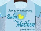 Diy Baby Shower Invitations for Boys Baby Shower Esie Invitations Printable Baby Boy Custom