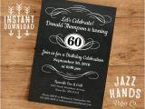 Diy Birthday Invitations Templates Vintage Adult Birthday Invitation Template Diy Printable