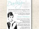 Diy Breakfast at Tiffany S Bridal Shower Invitations Breakfast at Tiffany 39 S Bridal Shower Invitation 2667027