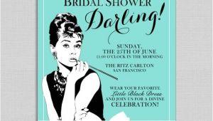 Diy Breakfast at Tiffany S Bridal Shower Invitations Breakfast at Tiffany 39 S Bridal Shower Invitations 2524489