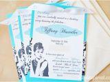 Diy Breakfast at Tiffany S Bridal Shower Invitations Breakfast at Tiffany 39 S Diy Invitations Diy Inspired