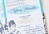Diy Breakfast at Tiffany S Bridal Shower Invitations Breakfast at Tiffany 39 S Diy Invitations Diy Inspired