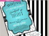 Diy Breakfast at Tiffany S Bridal Shower Invitations Breakfast at Tiffanys Bridal Shower by Enchanteddesigns4u