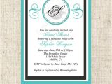 Diy Breakfast at Tiffany S Bridal Shower Invitations Printable Breakfast at Tiffanys Bridal Shower by