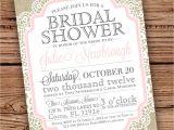 Diy Bridal Shower Invite Template Diy Wedding Shower Invitations Diy Bridal Shower