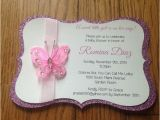 Diy butterfly Birthday Invitations butterfly Garden themed Baby Shower by Memorableimprints