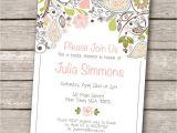 Diy Free Printable Bridal Shower Invitations Invitations Templates Vintage Wedding Shower Invitations