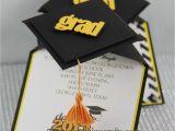 Diy Graduation Cap Invitations 3d Graduation Cap Pop Up Invitations Jinkys Crafts
