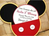 Diy Mickey Mouse Party Invitations Mickey Mouse Birthday Party Ideas Pink Lover