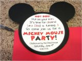 Diy Mickey Mouse Party Invitations Mickey Mouse Invitations Love to Be In the Kitchen