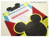 Diy Mickey Mouse Party Invitations the290ss Diy Mickey Mouse Invitation