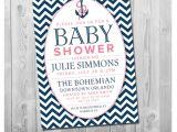 Diy Nautical Baby Shower Invitations Nautical Baby Shower Invitation Diy Printable Sailboat Baby
