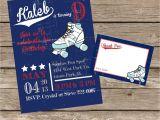 Diy Party Invitation Kits Diy Printable Vintage Roller Skating Birthday Invitation