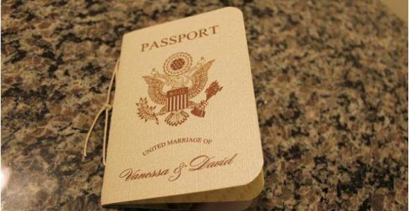 Diy Passport Wedding Invitation Template Vanessa 39 S Diy Passport Destination Wedding Invitations