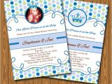 Diy Prince Baby Shower Invitations Little Prince Baby Shower Invitations Diy Printable by