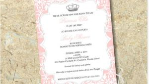 Diy Princess Baby Shower Invitations Princess Baby Shower Invitation Diy by Sbstudiodesign On Etsy