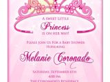 Diy Princess Baby Shower Invitations Princess Baby Shower Invitation Diy Princess Crown Baby
